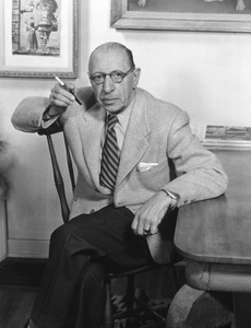 Igor Stravinski at homecirca 1950 © 1978 Tom Kelley - Image 4817_0017