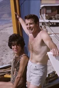 Robert Horton and his wife Marilynn Bradley1965© 1978 Gene Trindl - Image 4820_0007