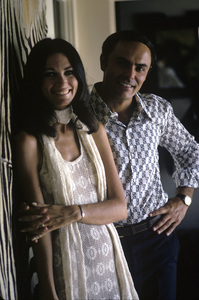 John Saxon and his wife, Mary Ann1970© 1978 Gunther - Image 4835_0003