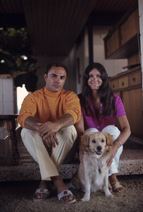 John Saxon and his wife, Mary Ann1969© 1978 Gene Trindl - Image 4835_0006