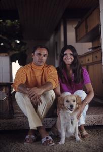 John Saxon and his wife, Mary Ann1969© 1978 Gene Trindl - Image 4835_0006