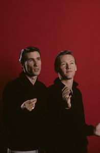 Righteous BrothersBobby Hatfield, Bill MedleyFebruary 1965© 1978 Gene Trindl - Image 4849_0011