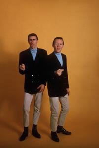 The Righteous BrothersBill Medley,Bobby HatfieldFebuary 1965 © 1978 Gene Trindl - Image 4849_0014