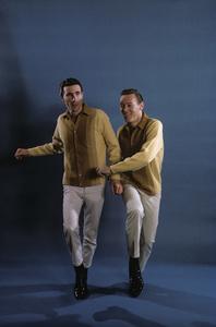 Righteous BrothersBill Medley, Bobby HatfieldFebruary 1965© 1978 Gene Trindl - Image 4849_0024