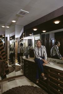 Paul Lynde at home1972 © 1978 Gene Trindl - Image 4857_0007