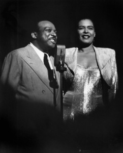 Count Basie with Billie Holiday at the Strand Theatre in New York City1948** I.V.M. - Image 4861_0013