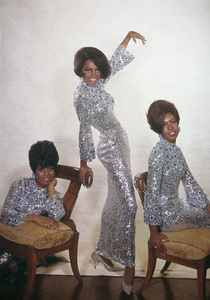 The Supremes (Diana Ross, Cindy Birdsong, Mary Wilson)1967© 1978 Wallace Seawell - Image 4865_0024