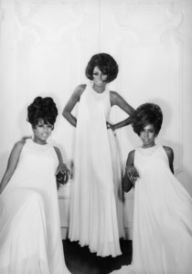 The Supremes (Diana Ross, Cindy Birdsong, Mary Wilson)1967© 1978 Wallace Seawell - Image 4865_0028