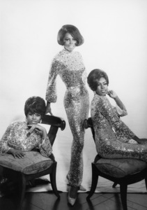 The Supremes (Diana Ross, Cindy Birdsong, Mary Wilson)1967© 1978 Wallace Seawell - Image 4865_0030