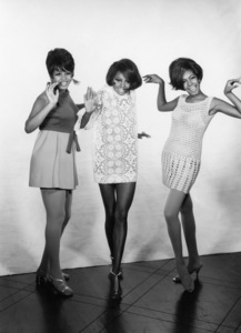 The Supremes (Diana Ross, Cindy Birdsong, Mary Wilson)1967© 1978 Wallace Seawell - Image 4865_0031