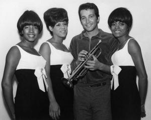 The Supremes (Mary Wilson, Florence Ballard, Diana Ross) with Herb Alpertcirca 1965** F.R. - Image 4865_0039