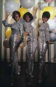 The Supremes (Diana Ross, Cindy Birdsong, Mary Wilson)1967© 1978 Wallace Seawell - Image 4865_0040