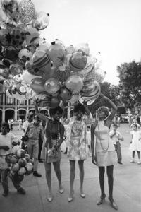 The SupremesMexico CityMary Wilson, Diana Ross, Cindy Birdsongcirca 1967 © 1978 Gunther - Image 4865_0042
