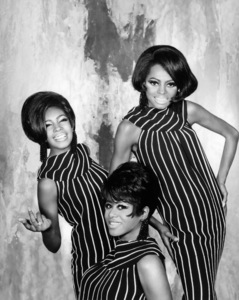 The Supremes (Diana Ross, Cindy Birdsong, Mary Wilson)1967© 1978 Wallace Seawell - Image 4865_0050