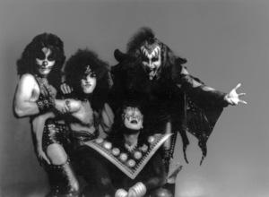 """KISS""Peter Criss, Paul Stanley, Ace Frehley, Gene Simmonscirca 1975** B.F.C. - Image 4871_0001"