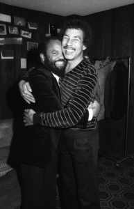 Berry Gordy Jr. and Smokey Robinsoncirca 1980s© 1980 Bobby Holland - Image 4874_0013