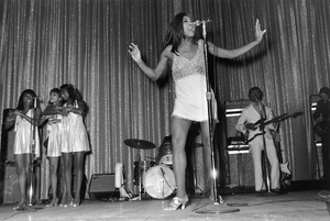 Tina Turnerperforming in Las Vegas with Ike Turner1970 © 1978 Gunther - Image 4882_0018