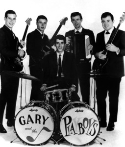 Gary Lewis and The PlayboysMembers include David Walker, Al Ramsay, David Costell, John West, Gary LewisC. 1965 - Image 4889_0007