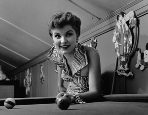 Debra Paget at home05-20-1955 © 1978 Sid Avery - Image 4899_0007