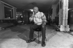Redd Foxx at home1989© 1989 Gunther - Image 4901_0018