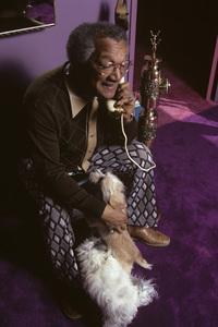 Redd Foxx at home1973© 1978 Gene Trindl - Image 4901_0023