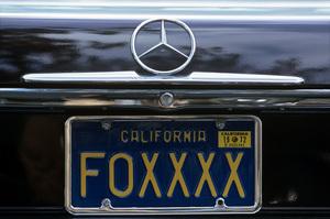 Redd Foxx (California license plate)1973© 1978 Gene Trindl - Image 4901_0025