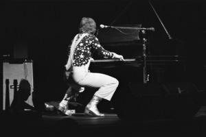 Elton John performing at the Fillmore East in New York Citycirca 1969 © 1978 Gary Legon - Image 4960_0030