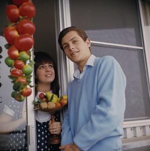 Burt Ward and wife Bonneycirca 1965 © 1978 David Sutton - Image 4970_0001
