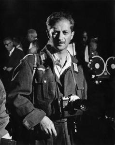 """Photographer David Sutton during the making of """"Von Ryan"""