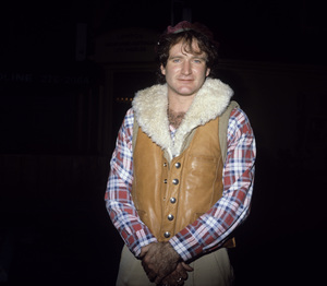 Robin Williams at the Roxy to see Southside Johnnycirca 1978© 1978 Gary Lewis - Image 5045_0028