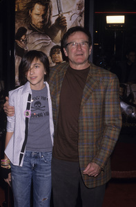 Robin Williams and his daughter Zelda2003© 2003 Gary Lewis - Image 5045_0043