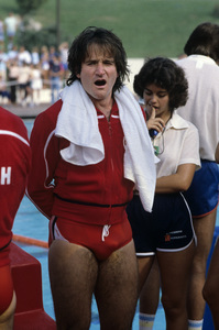 """Robin Williams on """"Battle of the Network Stars""""1978© 1978 Gary Lewis - Image 5045_0047"""