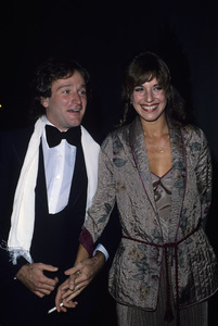 Robin Williams and wife Valerie Williamscirca 1978© 1978 Gary Lewis - Image 5045_0053