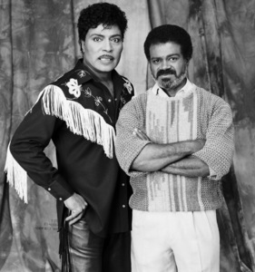 Little Richard and Ted Lange1992 © 2009 Bobby Holland - Image 5048_0007