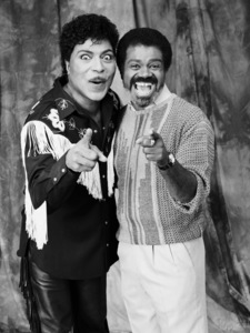 Little Richard and Ted Lange1992 © 2009 Bobby Holland - Image 5048_0008