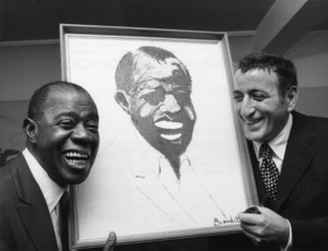 Louis Armstrong and Tony Bennett October 1970 ** I.V.