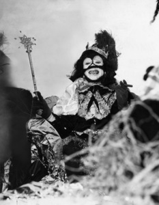 Louis Armstrong as Zulu King, Mardi Gras, New Orleans1949** I.V. - Image 5062_0110