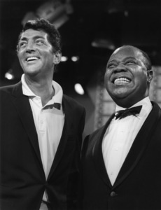 """Louis Armstrong and Dean Martin on """"The Dean Martin Show""""1965** I.V. - Image 5062_0119"""