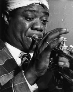 Louis Armstrong1946Photo by William P. Gottlieb** I.V.M. - Image 5062_0120