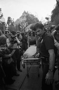 John Belushi death scene at Chateau Marmont bungalow 03-05-1982 © 1982 Gunther - Image 5087_0029