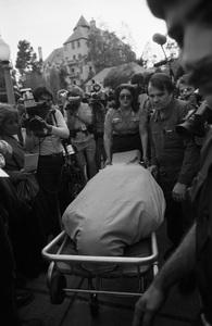 John Belushi death scene at Chateau Marmont bungalow 03-05-1982 © 1982 Gunther - Image 5087_0030