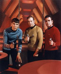 """Star Trek""Leonard Nimoy, William Shatner, James Doohan1969 Paramount - Image 5088_0136"