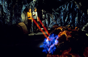 """Star Trek"" (Episode: The Devil in the Dark)William Shatner, Leonard Nimoy1967 - Image 5088_0163"