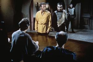 """Star Trek"" (Episode: Errand of Mercy)William Shatner, John Colicos1967 - Image 5088_0164"