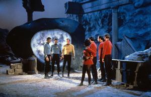 """Star Trek"" (Episode: The City on the Edge of Forever)William Shatner, DeForest Kelley, Leonard Nimoy, Nichelle Nichols1967 - Image 5088_0166"