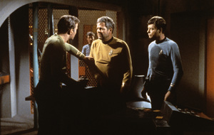 """""""Star Trek"""" (Episode: The Doomsday Machine)DeForest Kelley, William Shatner, William Windom1967 - Image 5088_0172"""