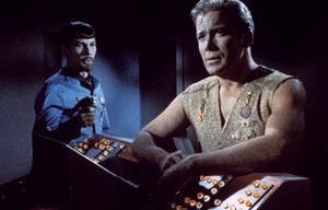 """Star Trek"" (Episode: Mirror, Mirror)Leonard Nimoy, William Shatner1967 - Image 5088_0176"