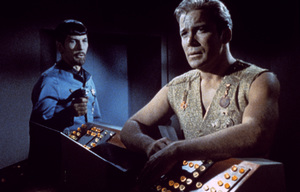 """Star Trek"" (Episode: Mirror, Mirror)Leonard Nimoy, William Shatner1967 - Image 5088_0176"