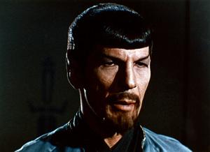 """Star Trek"" (Episode: Mirror, Mirror)Leonard Nimoy1967 - Image 5088_0261"