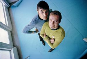 """""""Star Trek"""" Leonard Nimoy, William Shatner 1966 © 1978 Ken Whitmore - Image 5088_0345"""